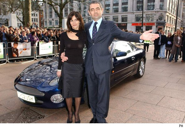 Rowan Atkinson goes motoring