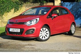First drive: Kia Rio