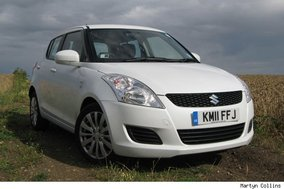 Suzuki Swift comparison