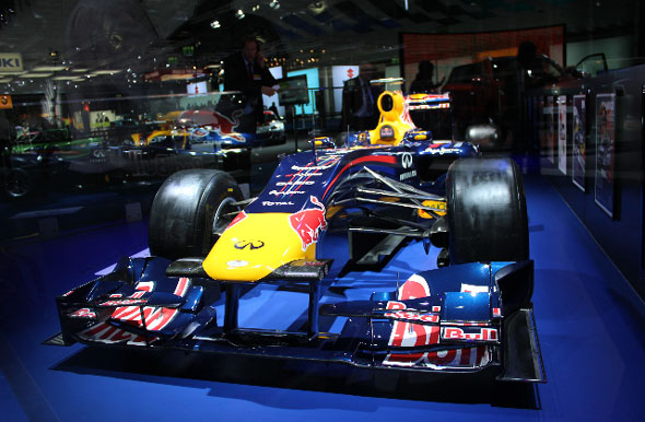 Red Bull F1 car