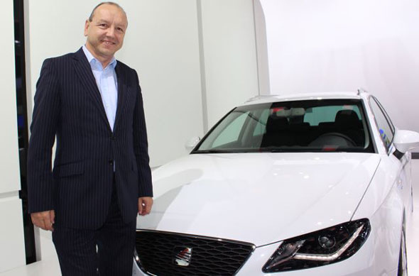 Seat UK boss Peter Whinney