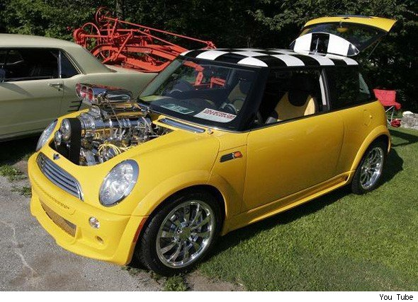 Hemi Into A Mini Does Go Aol Uk Cars