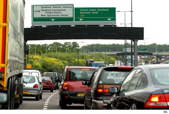 Motorway delays
