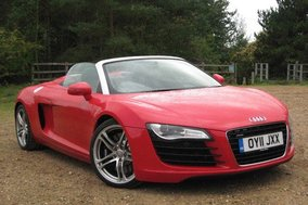 Audi R8 V8 Spyder: Road test