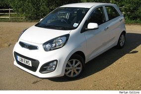Kia Picanto 1.25 2 Ecodynamics: Road test