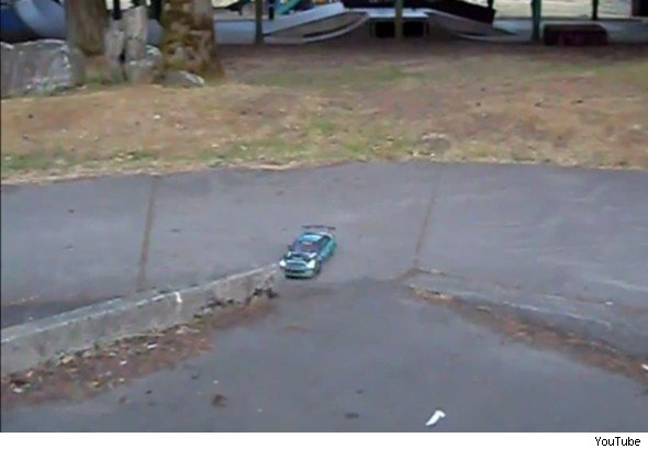 R/C drifting car