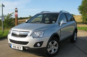 Vauxhall Antara 2.2 CDTi FWD Exclusiv: Road test review