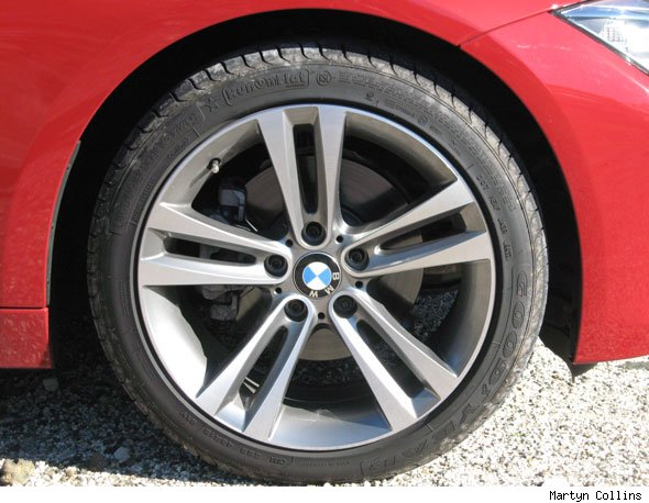 "BMW 3-Series 18"" alloy wheel"