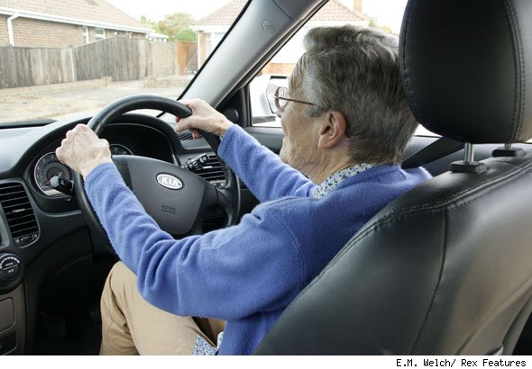 One in 10 older drivers 'not fit to be on the road'