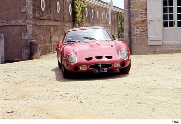 Ferrari 250GTO sells for record-breaking amount