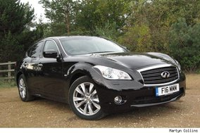 Infiniti M30d GT Premium: Road test review