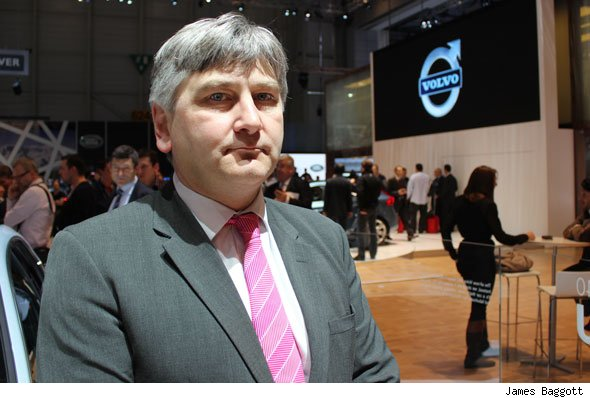 Volvo UK boss Nick Conner