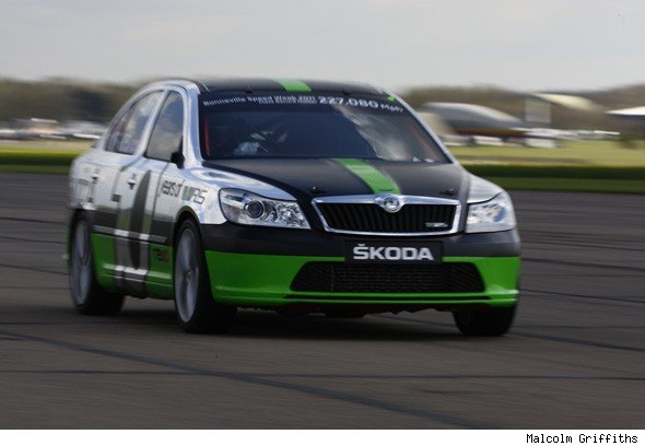 Bonneville Skoda Octavia vRS