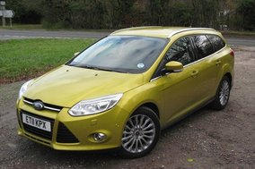Ford Focus Titanium X 1.6 TDCi 115 Estate: Road test review