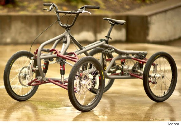 Is This The World S Most Extreme Bmx Aol Uk Cars