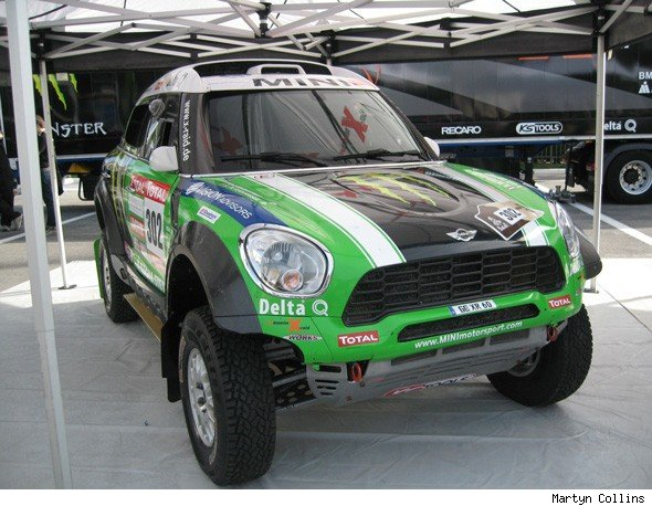 Dakar Rally winning MINI All4