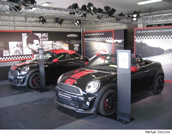 MINI John Cooper Works Coupe and Roadster