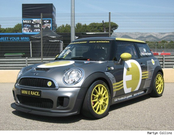 MINI's racing version of the electric MINI E