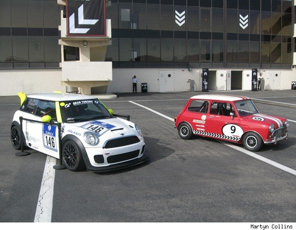 Old and new racers meet at MINI United