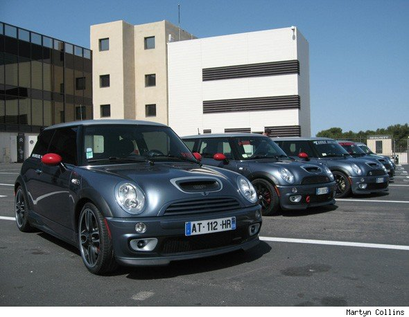 MINI Cooper S John Cooper Works GP display