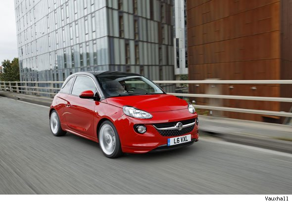Vauxhall's new Adam starts at £11k