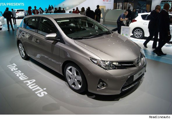 New Toyota Auris hatchback