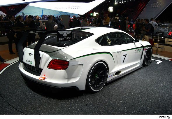 Bentley reveals Continental GT3