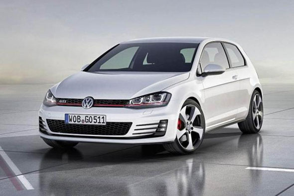 New Golf GTI pictures leaked onto the internet