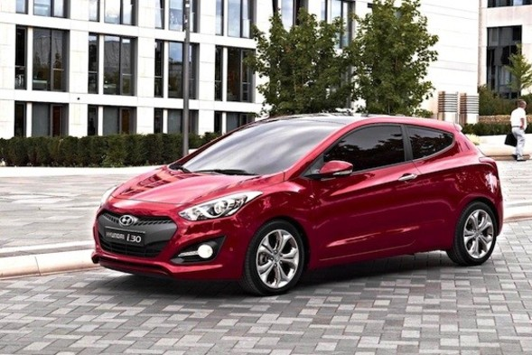 Hyundi i30 three-door