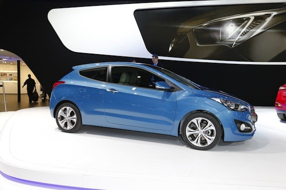 Hyundai's new three-door i30