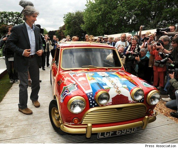 George Harrison's Mini