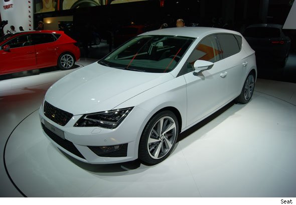 Seat's new Leon hatchback