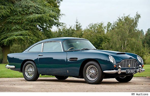 Paul McCartney's Aston DB5