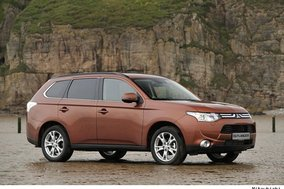 First drive review: Mitsubishi Outlander