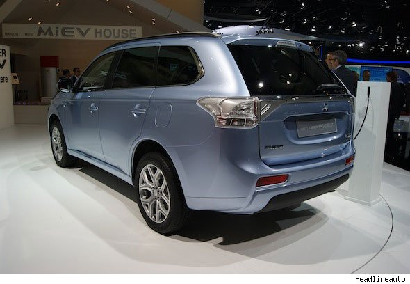 Mitsubishi presents Outlander Plug-in