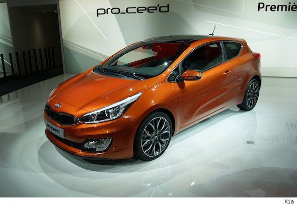 Kia shows off Pro Cee'd at Paris Motor Show
