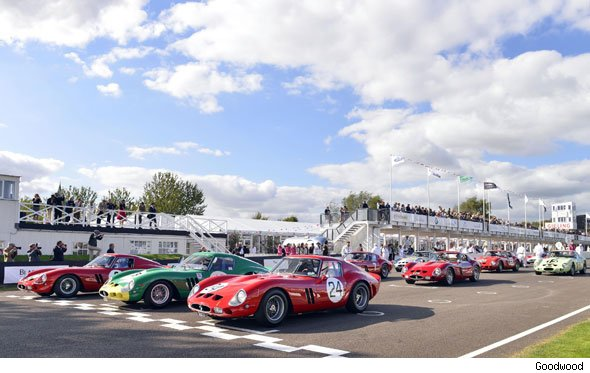 Ferrari 250 GTO Parade