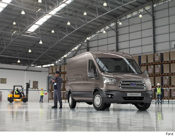 Ford Transit two-tonne