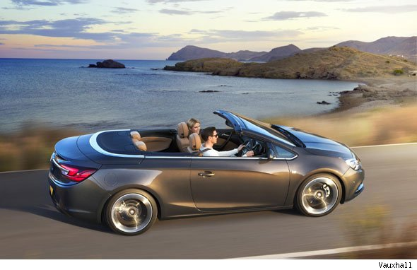 Vauxhall's sleek new Cascada