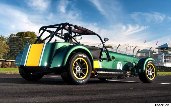 Caterham's new Superlight R600