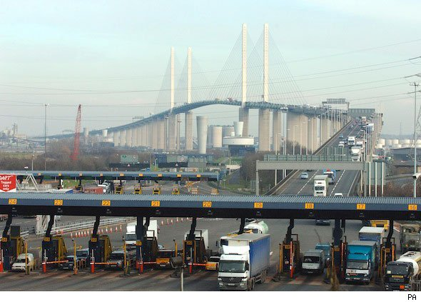 Dartford toll increases