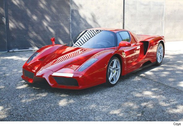 Button's Ferrari Enzo