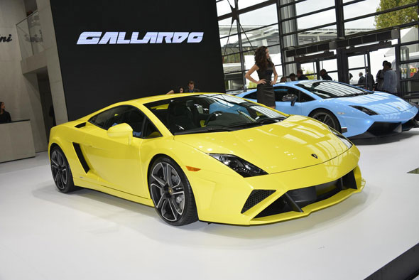 Lamborghini's 2013 model year Gallardo