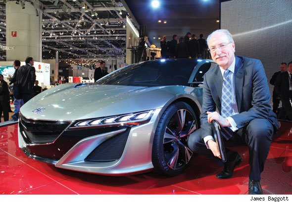 Honda UK MD Dave Hodgetts