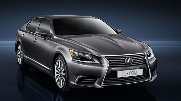 Lexus reveals new LS