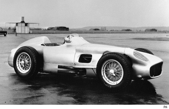 1954 Mercedes-Benz W196 GP car