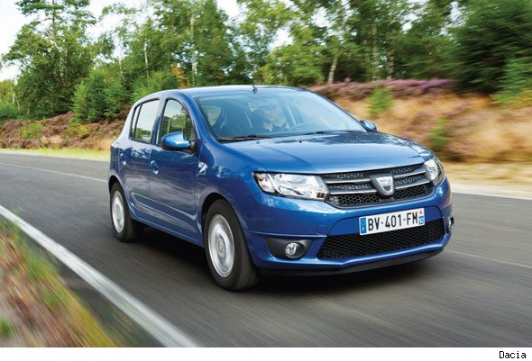 New Sandero costs £5,995