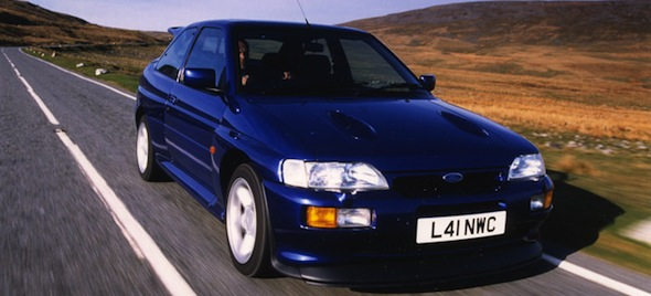 9. Ford Escort Cosworth
