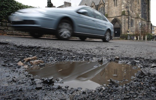 Pothole crisis