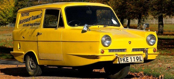 7. Reliant three-wheeler
